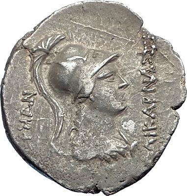 HALIKARNASSOS in CARIA Authentic Ancient 150BC RARE Silver Greek Coin NGC i73700