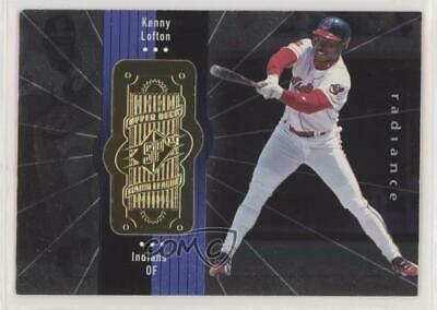 1998 SPx Finite Radiance #75 Kenny Lofton Cleveland Indians Baseball Card