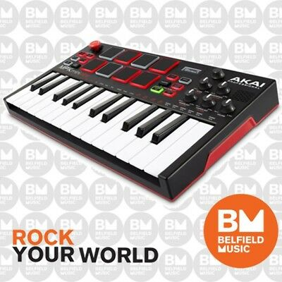 Akai Pro MPKMINI Play MPK Mini Controller + Synth - Brand New - Belfield Music
