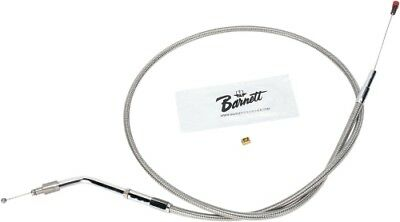 Barnett Stainless Clear-Coated Idle Cable HARLEY-DAVIDSON XL1200C Sportster etc