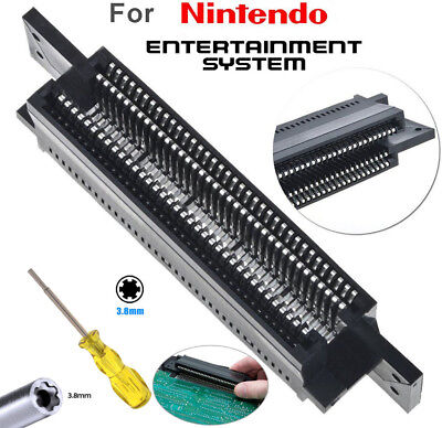 72 Pin Replacement Connector 3.8mm Screwdriver Bit For Nintendo NES 8 Bit System