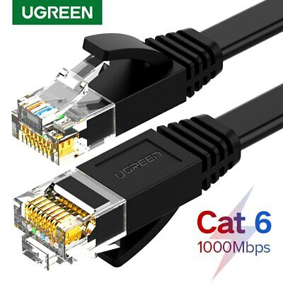Ugreen Cat6 Ethernet Patch Cable Gigabit RJ45 LAN Network Wire Cord for Modem