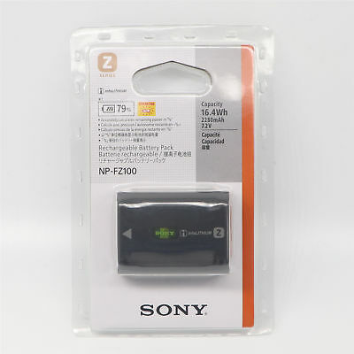 New OEM NP-FZ100 battery for sony ILCE-9 A9 A7RM3 A7RIII A7R3 2280mah
