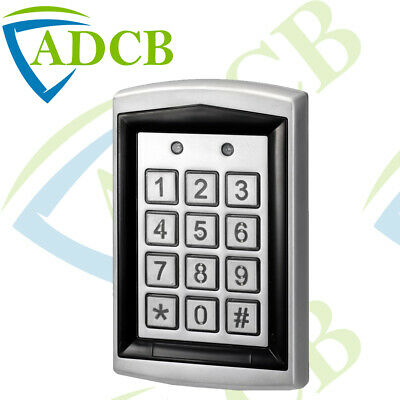 Waterproof Vandal Resistant RFID Proximity Keypad Entry Access Gate Door