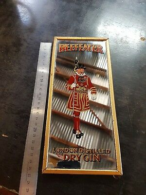 Vintage Beefeater Dry Gin Bar Mirror