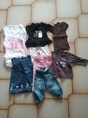 lot vêtements 9 mois fille