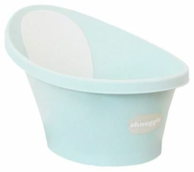 Shnuggle Baby Bath with Bum Support - Aqua