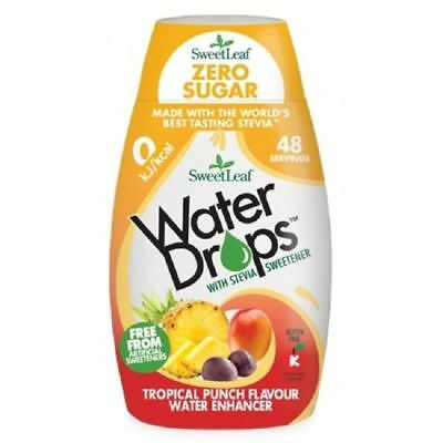 Sweetleaf Water Drops Zero Sugar - Tropical Punch Flavour - 48ml