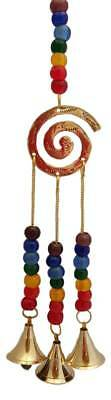 7 Chakra Spiral wind chime Wiccan Pagan Witchcraft Home Decor