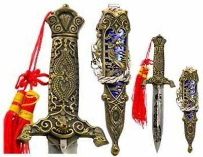 Eastern Dragon Athame Dagger Knife With Anointing Oil & Ritual Spell Blessing