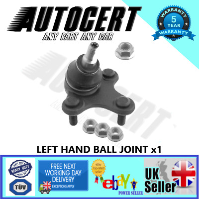 Vw Scirocco 2008> Front Lower Ball Joint For The Arm Wishbone - Left