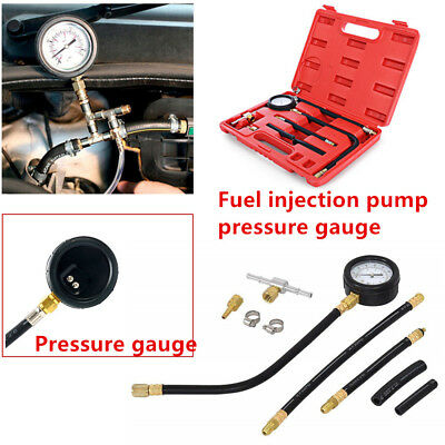 Multifunctional 0-100 PSI Fuel Injection Pump Injector Test Pressure Gauge Parts