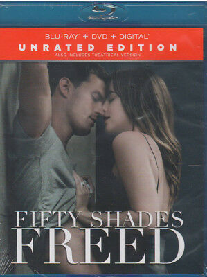 FIFTY SHADES FREED ( Blu-ray/DVD, 2018,Includes Digital Copy) NEW
