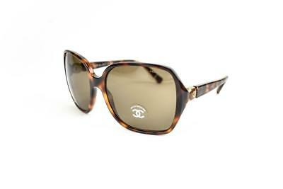 8582442b98 CHANEL NEW TORTOISE Brown Women s 56-19 Oval Summer Sunglasses  390 ...