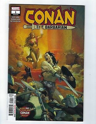 Conan The Barbarian # 1 Cover A NM Marvel