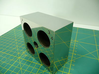 Giant ZEISS Optical Square Cube +/-1sec Gage block CMM Calibration Toolmakers