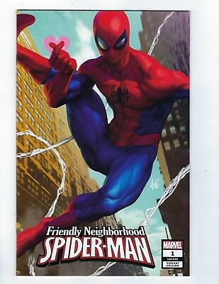 Friendly Neighborhood Spider-Man # 1 Artgerm Variant NM Marvel