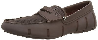 ddabc76a482 SWIMS MEN S PENNY Loafer Driving Moccasin Loafers Shoes Brown Size 8 ...