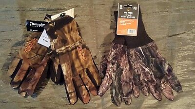 ca6d9a8522208 Hunting Gloves Mossy Oak Redhead Insulated Game Winner Dot Grip Mesh (2)  Pair