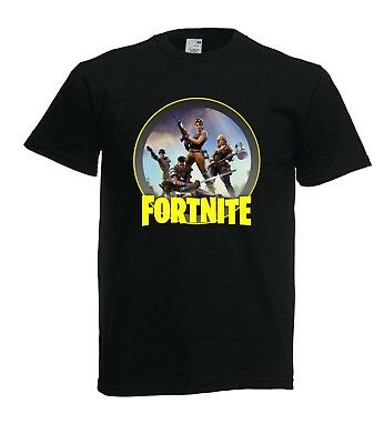 T- Shirt Maglietta Fortnite Bambino Uomo Donna Unisex - Fruit Of The Loom