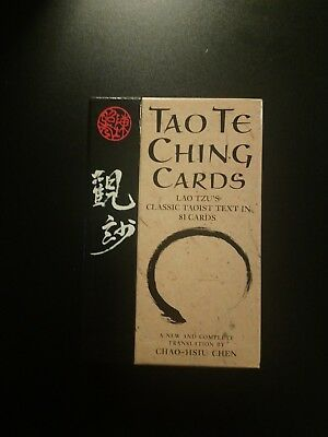 Tao Te Ching Cards: Lao Tzu's Classic Taoist Text in 81 Cards by Chao-Hsiu Chen