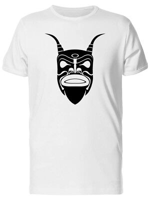 Ancient Demon Tribal Mask Men's Tee -Image by Shutterstock