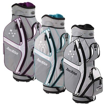 NEW Tour Edge Lady Cart / Carry 10-way Womens Golf Bag - Choose Your Color