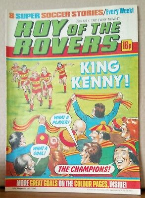 Roy of the Rovers Comic in very good condition dated 29th May 1982