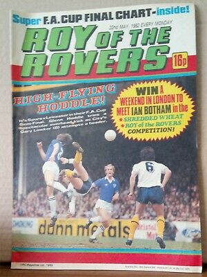 Roy of the Rovers Comic in very good condition dated 22nd May 1982