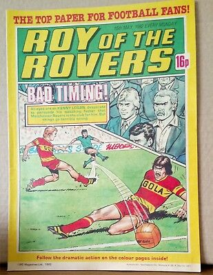 Roy of the Rovers Comic in very good condition dated 15th May 1982