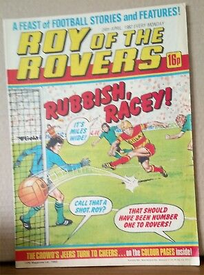 Roy of the Rovers Comic in very good condition dated 24th April 1982