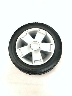3.00-8 Black Solid Block Tread Mobility Scooter Tyre 300 x 8 (PUNCTURE PROOF)