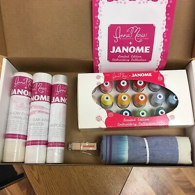 Anna Maria + Janome Embroidery Collection Limited Edition