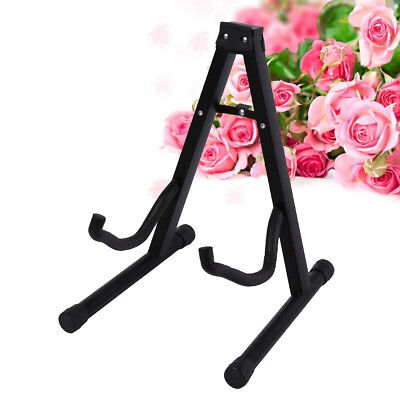 Folding Guitar Stand Electric Acoustic Bass GIG Floor Rack Holder Portable AU