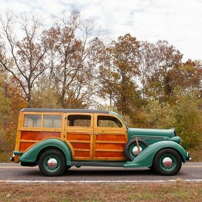1936 Other Makes Suburban Woody Restomod 1936 Plymouth Westchester Suburban Woody Restomod