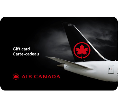 Buy $500 Air Canada Gift Card for only $460 - Email Delivery