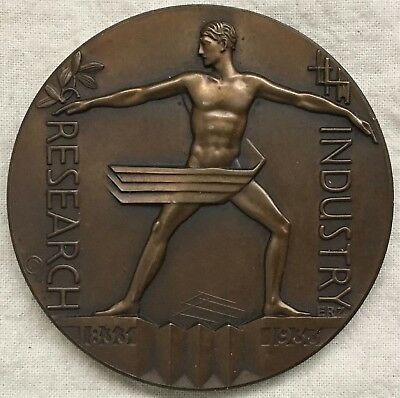 1933 Chicago World's Fair, A Century of Progress Official Medal by Emil Zettler