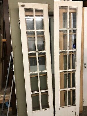 Exterior French Doors 79 X 18 Each 36 Inch Total Open