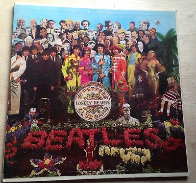 Beatles  Sgt Peppers Lonely Hearts Club Band Capitol Mas 2653 Mono 1967
