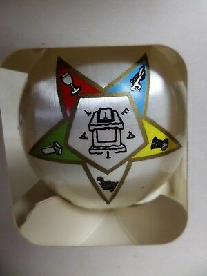 Christmas Ornament Fatal Masonic Order of Eastern Star Satin Campus Originals