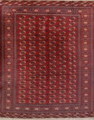 300 Knots Antique Vegetable Dye Bokhara Kazak Russian Oriental Area Rug 11'x13'