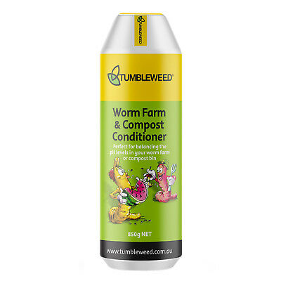 850g Tumbleweed Worm Farm And Compost Conditioner Less Odour Balance pH levels