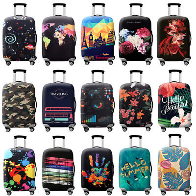 18 -32 inch Travel Protective Suitcase Cover Luggage Elastic Skin Case Protector