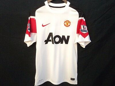 Manchester United  14 Chicharito Football Nike Shirt Jersey Soccer in Size  Small 76d7cff14