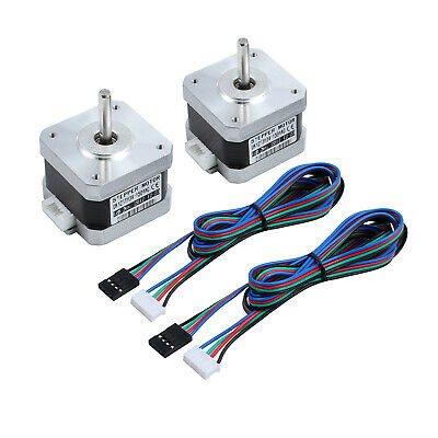 2pcs  Stepper Motor Nema 17r56Ncm 42HD4027-01 1.8°12V for DIY 3D Printer CNC