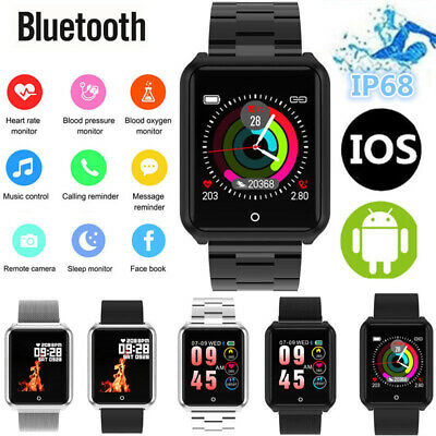 Women Smart Watch Fitness Activity Tracker For Android iOS Heart Rate Monitor U
