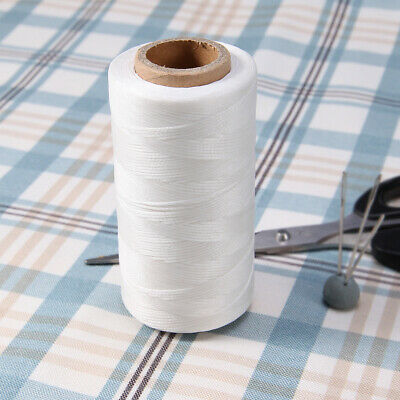 White 260m Yards Waxed Line thread hand sewing Craft
