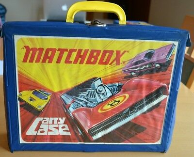 Collectors Storage Case for 48 Diecast Toy Cars Matchbox Lesney Superfast Moko