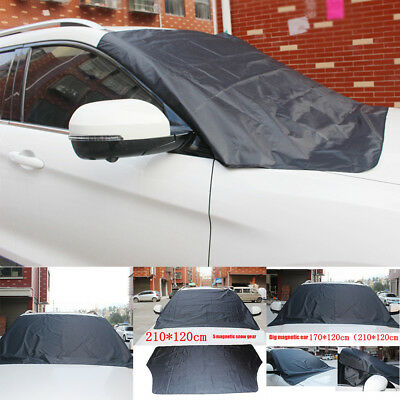 Car Truck Magnet Windshield Snow Cover Ice Frost Freeze Sun Protector Guard