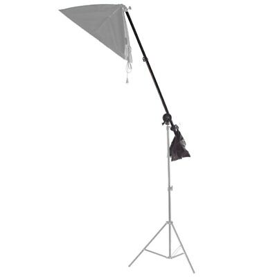 Photo Studio Overhead Boom Arm Top Light Stand with Grip Head Clip for Softbox